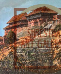 Durbar View of Nuwakot