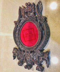 Oval Carved Frame